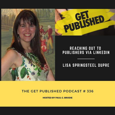 Our Founder was a guest on the Get Published Podcast - listen to her story