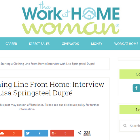 Press: The Work at Home Woman