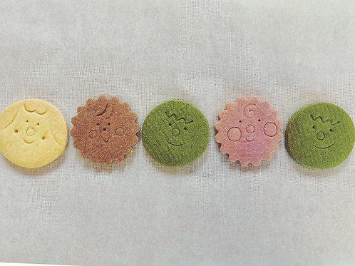 おいしくてかわいいスーパーフードクッキー4袋セット