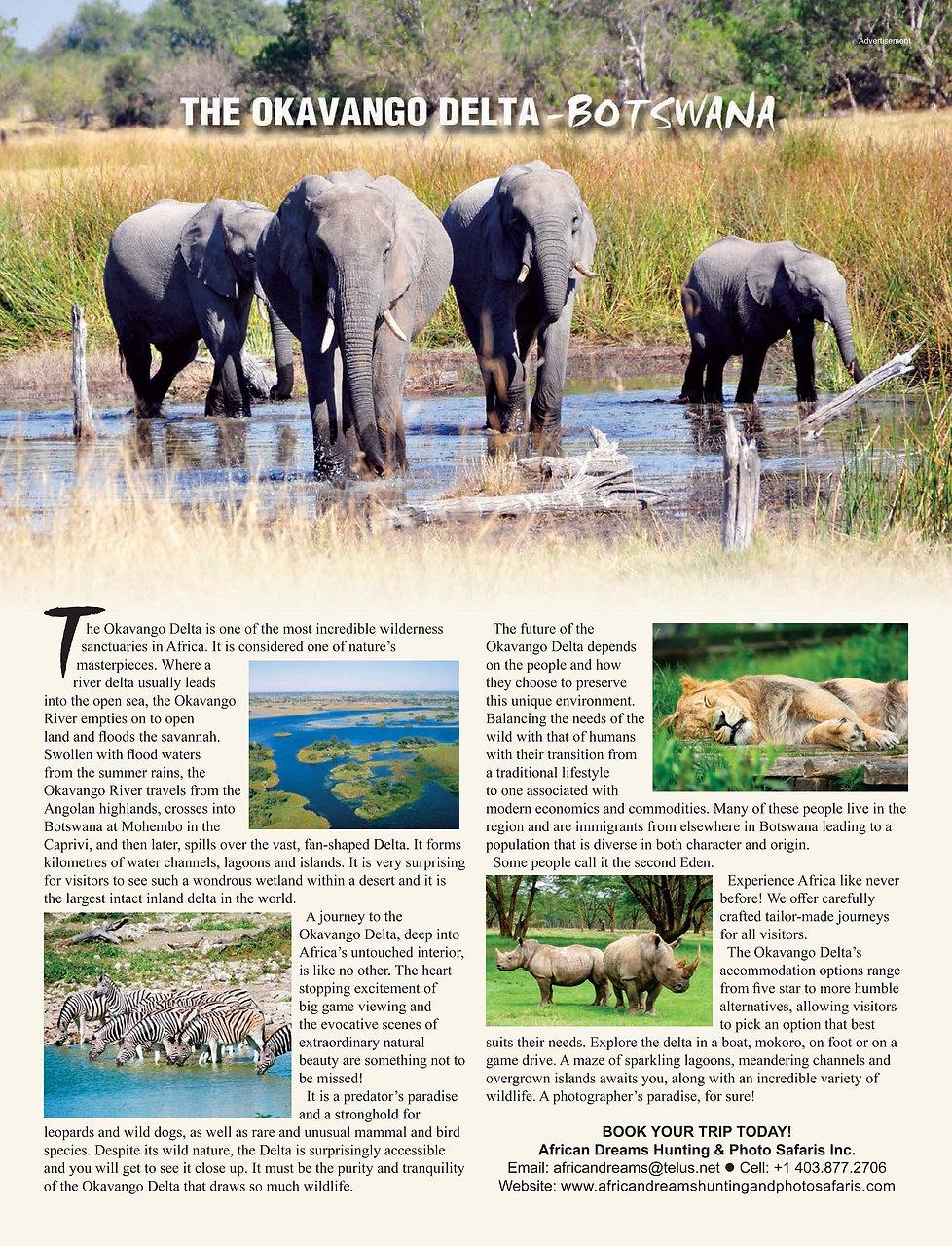 The Okavango Delta Botswana