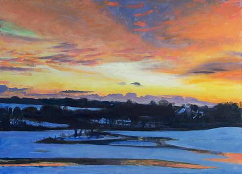 Sunrise, East Lavant