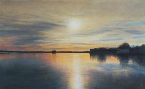 Sunset, Emsworth Harbour