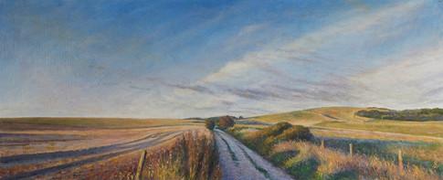 Chalkpit Lane Sunset