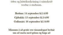 Kynntu þér málið - kannski sérðu eitthvað áhugavert.