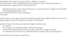 Félagsmiðstöðvarnar að mestu lokaðar frá 25. mars