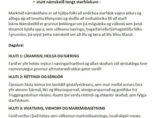 Ókeypis starfslokanámskeið fyrir félaga í FEBK í boði LEB   8. - 10. júní, fyrir hádegi alla dagana.