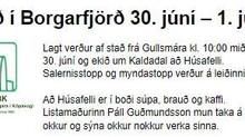 Borgarfjörðurinn bíður okkar félaganna í FEBK.