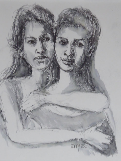 ELN 001 Sisters by Ellys Nathaniel