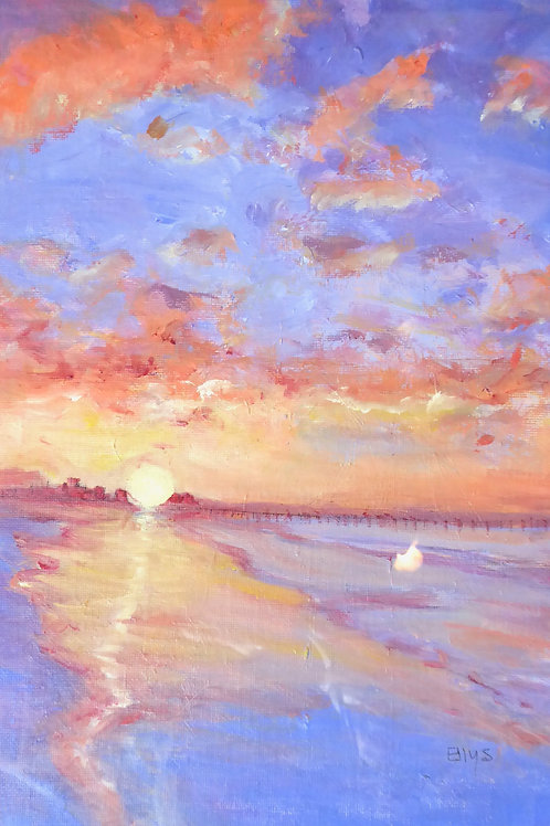 ELN 003 California Sunset by Ellys Nathaniel