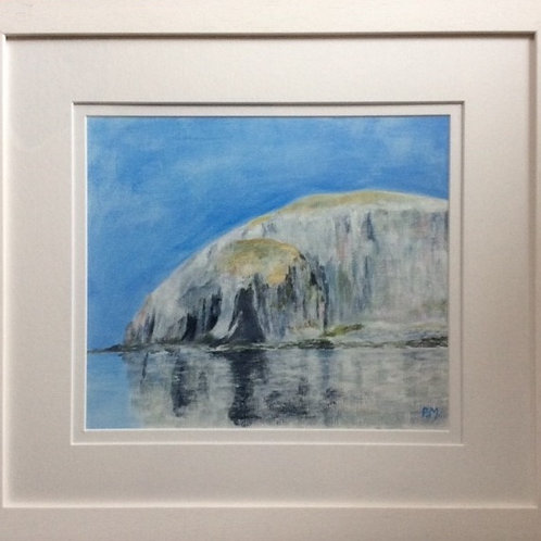 PMI 002 Ailsa Craig Water Cave by Patricia Millar