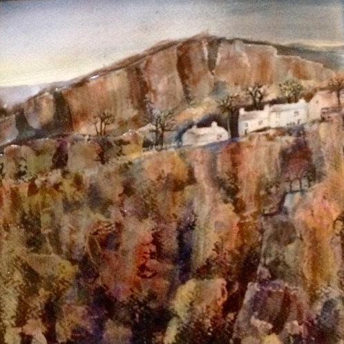 JAR 012 Cliff View by Jackie Ridge