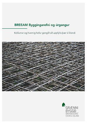 BREEAM_byggingarefni_og_úrgangur_forsi
