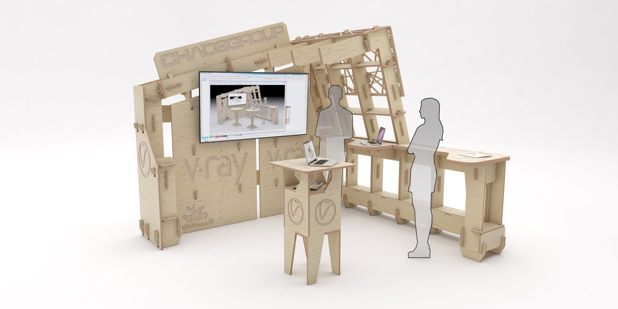 V-Ray WikiBooth AIA 2014