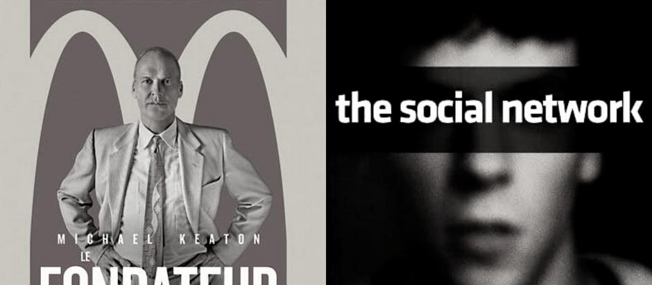 Deux histoires d'entreprises au cinéma