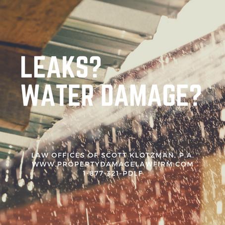 Isaias Water Damage?