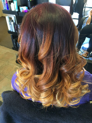 Copper Ombre/Balayage