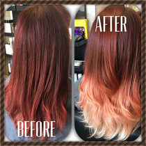 Red Fire Ombre