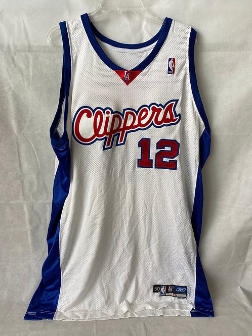 Rodney White Game Used Los Angeles Clippers Jersey