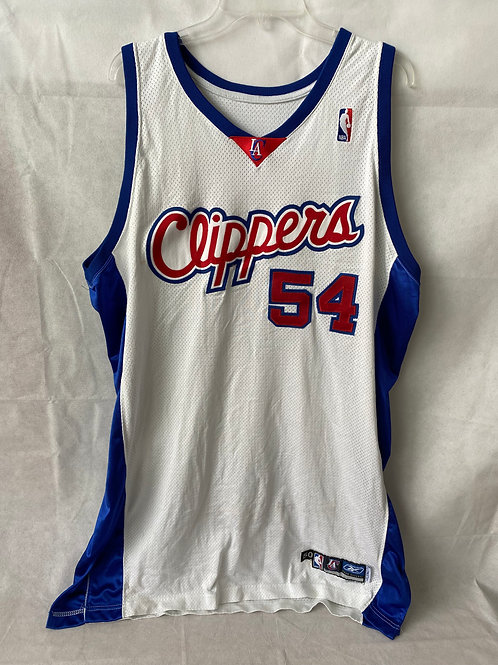 Chris Wilcox Game Used Los Angeles Clippers Jersey