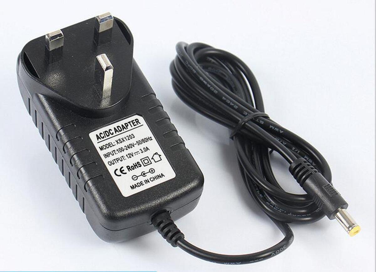 2A AC/DC12V UK Plug Power Supply Adaptor Transformer