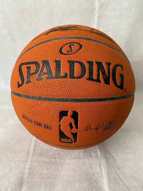 Isiah Thomas autographed Los Angeles Clippers Official NBA Game Basketball