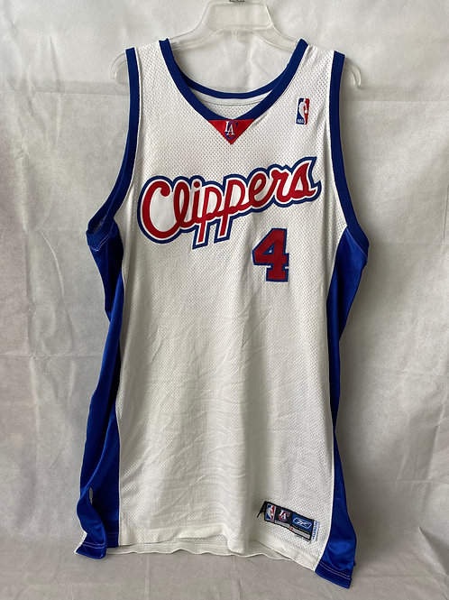 Anthony Goldwire Game Used Los Angeles Clippers Jersey