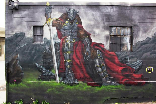 Ben Watson mural