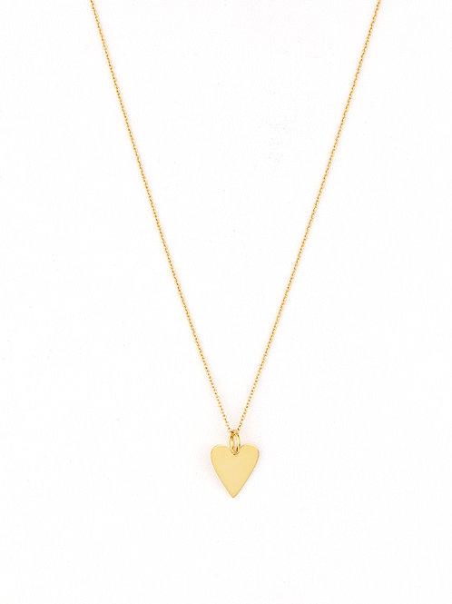 Love Heart Wrap Plain Gold
