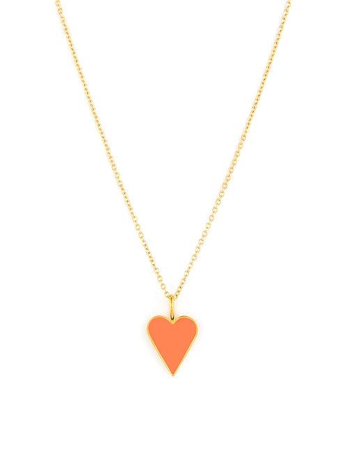 Enamel Love Heart Wrap