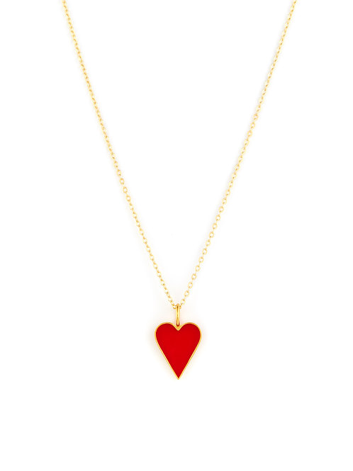 Enamel Love Heart Wrap