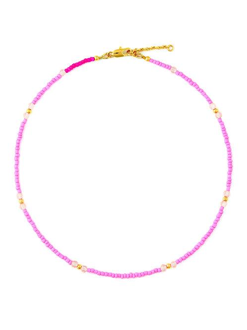 Bubblegum Pink & Crystal