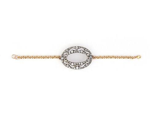 Art Deco Oval Bracelet