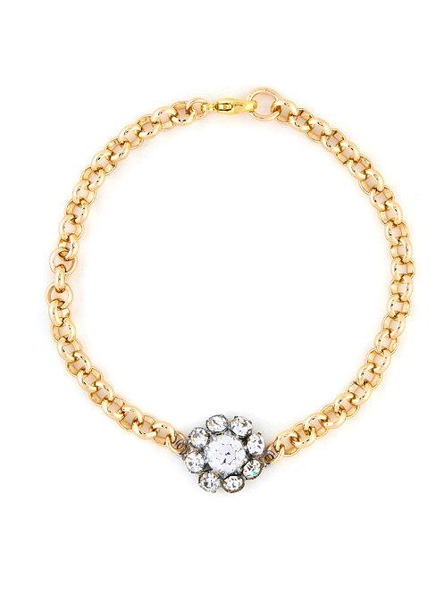 Vintage Daisy Cluster Bracelet