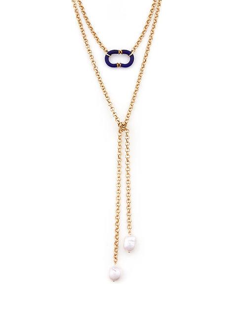 Vintage Chanel & Pearl Wrap
