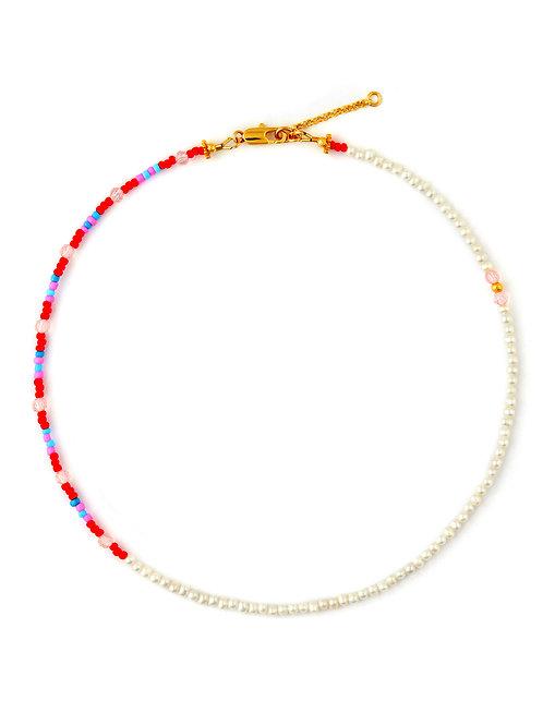 Seed Pearls & Crystal