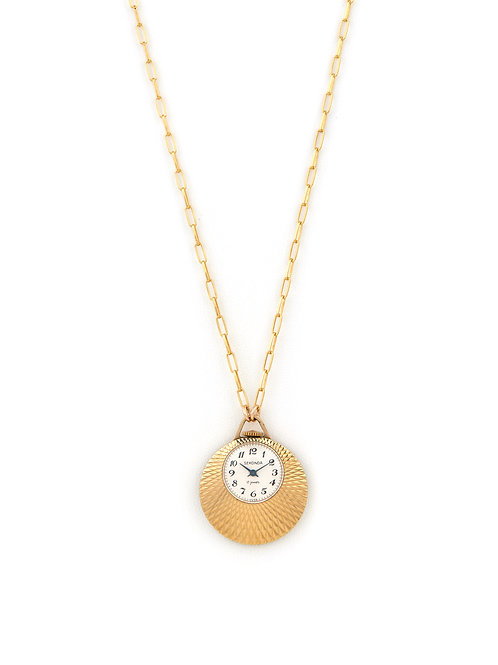 Vintage Sunray Watch Pendant