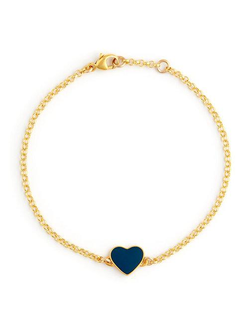Enamel Love Heart Bracelets