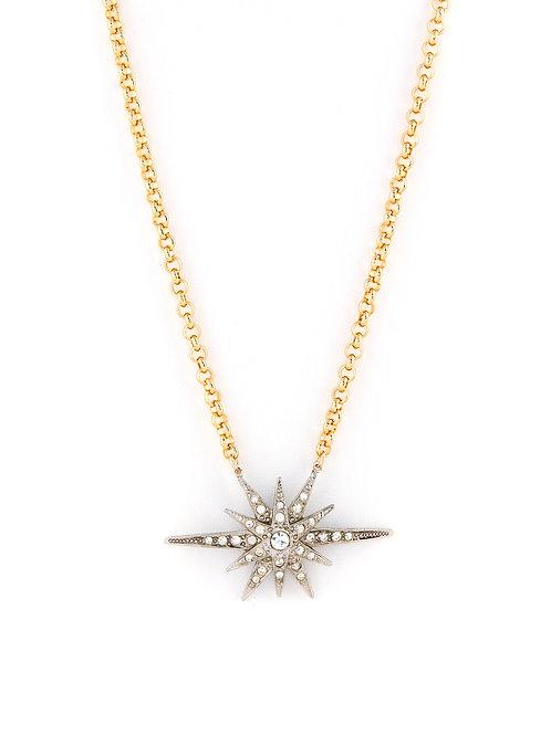 Vintage Starburst Pendant