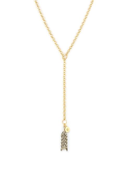 Victorian Silver Arrow Lariat