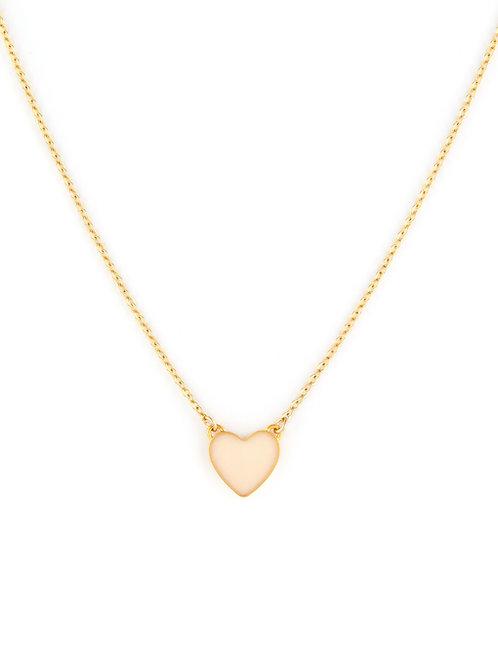 Enamel Love Heart Single Necklace