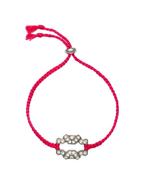 Edwardian Charm Friendship Bracelet