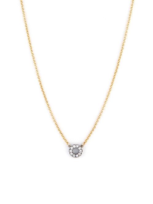 Edwardian Silver Circular Pendant
