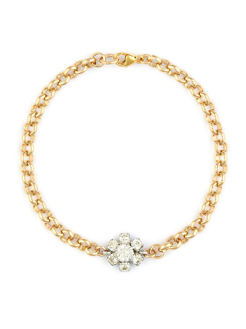 Daisy Cluster Bracelet