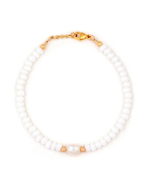 White, Gold & Pearl