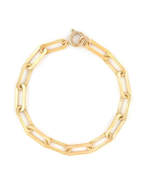 Etched Link Bracelet
