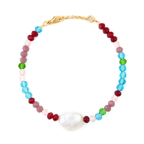 Large Baroque Pearl & Beads