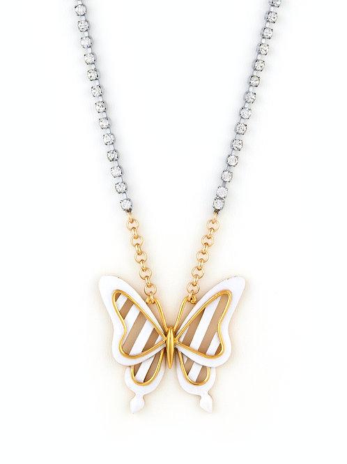 Vintage Enamel Butterfly
