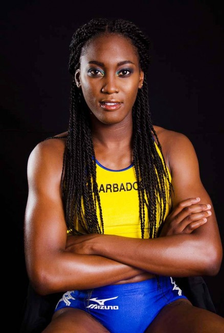 Akela Jones, Barbadian heptathlete
