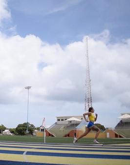 Running at Usain Bolt SC