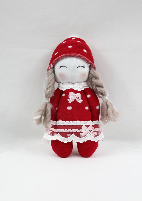 Lavender Doll in Red